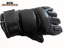 Тактичні рукавички Tactical безпалі чорні