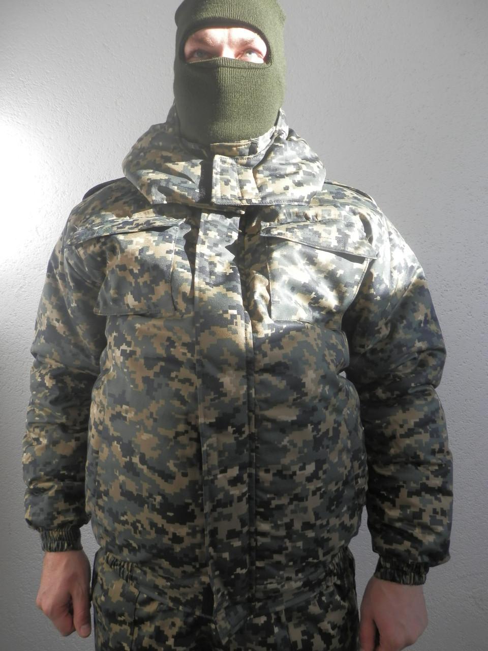 Куртка пиксель, зима Укр Армия, (опт и розн) камуфляжный MARPAT Woodla