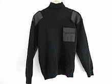 Свитер форменный (мод. Round) черный 12-класс