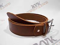 Ремень для джинсов и брюк коричневый  (Арт. К2), фото 1