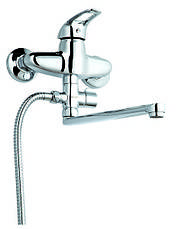 Смеситель для ванны ZEGOR LZS-А171 (Зегор), фото 3
