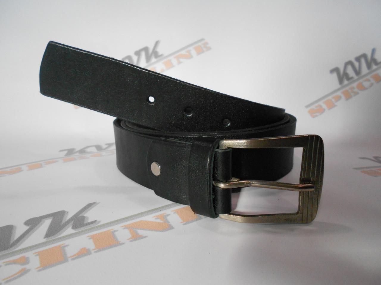 Ремень охранника классический черный (Арт. О1)