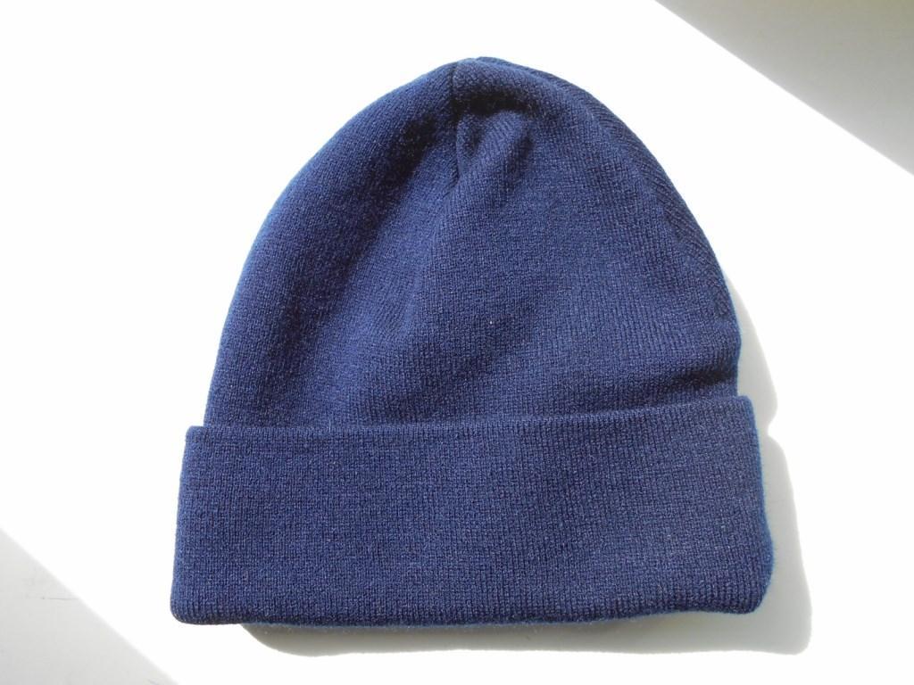 Шапка зимняя Military Cap Dark blue синяя