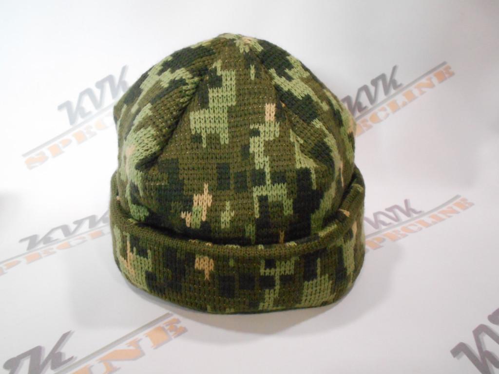 Шапка зимова Military Cap Digital (ЗСУ) піксель
