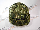 Шапка зимова Military Cap Digital (ЗСУ) піксель, фото 2