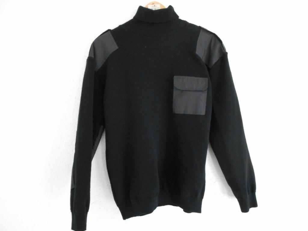 Свитер-гольф форменный (мод. Roll) черный 7-класс