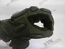 Тактичні рукавички Tactical олива утеплені