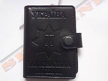Обложка под жетон и удостоверения национальной полиции Украины