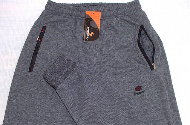 Мужские спортивные штаны на манжете Shooter (M) 4511, фото 3