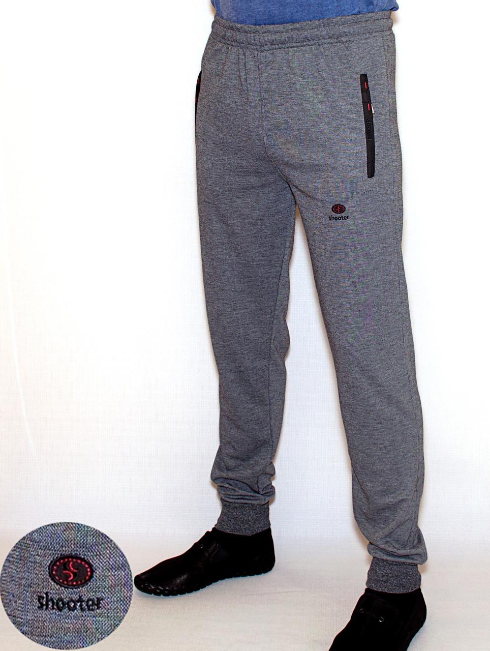 Мужские спортивные штаны на манжете Shooter (M) 4511