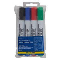 Маркер для доски Набор маркеров для сухостираемых досок Buromax ВМ.8800-94