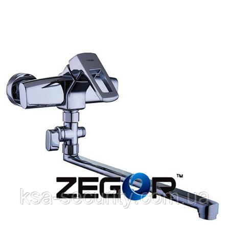 Смеситель для ванны ZEGOR NEF6-А232 (Зегор), фото 2