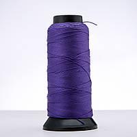 Нитка фиолетовая d-0.9мм капроновая для рукоделия