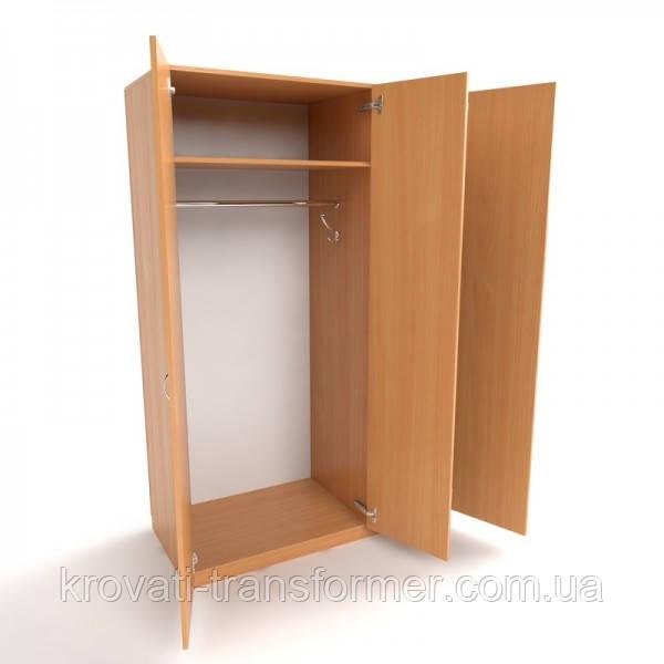 Шкаф платяной  комбинированный офисный ШК-3