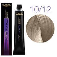 Краска для волос L'Oreal Professionnel Dia light 10.12, молочный коктейль, пепельно-перламутровый, 50 мл