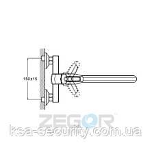 Смеситель для ванны ZEGOR NOF6-А033 (Зегор), фото 3