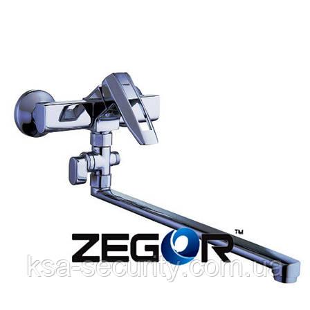 Смеситель для ванны ZEGOR NOF6-А033 (Зегор), фото 2
