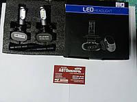 Лампа LED S1 HB-4 (9006) 12-24V 55W 6500K 4000Lm к-т