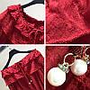Ажурная блузка укороченная 42-44 (в расцветках), фото 6