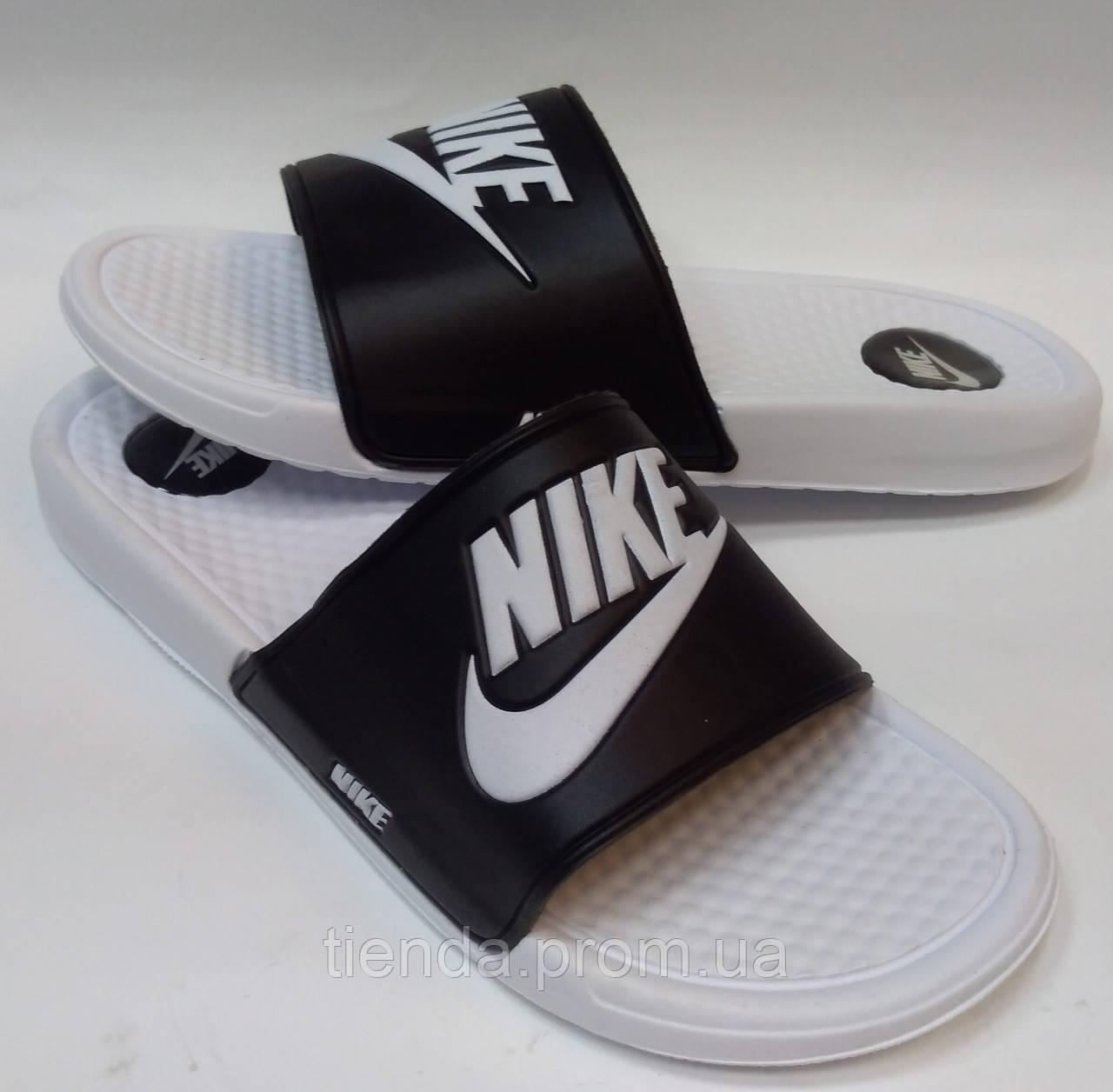 edfffd2b Мужские шлепанцы Nike бел-черные: продажа, цена в Харькове. сандалии ...