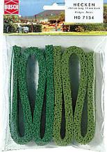 Busch 7154 структурована живопліт з моху, довжина 100см, для масштабів TT,H0
