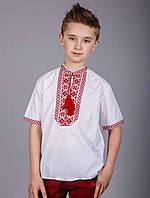Літня вишиванка на хлопчика короткий рукав, фото 1