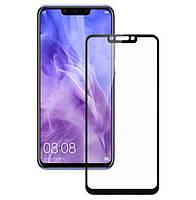 Защитное стекло для Huawei P Smart Plus / Nova 3 Full Glue черное
