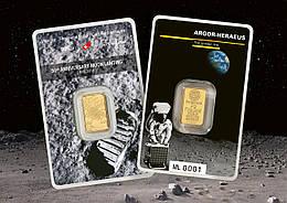 На 50-летие посадки на Луну Argor-Heraeus SA выпустил новый слиток !!!