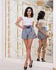Женские прогулочные летние шорты с карманами и шнуровкой спереди, фото 8