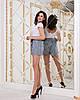 Женские прогулочные летние шорты с карманами и шнуровкой спереди, фото 10