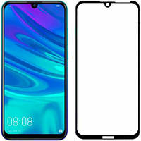 Защитное стекло для Huawei Y7 Pro 2019 Full Glue черное