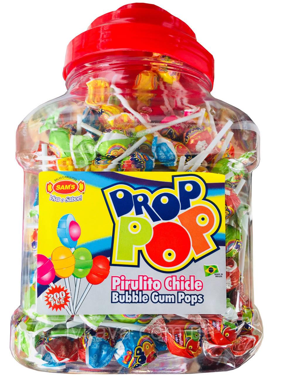 Леденцы на палочке Drop POP , 6 гр х 200 шт