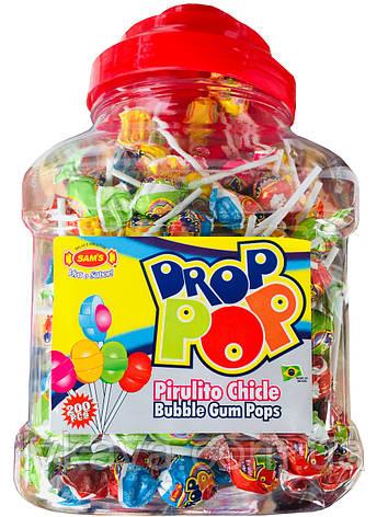 Леденцы на палочке Drop POP , 6 гр х 200 шт, фото 2