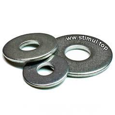 Шайба 4 х 15 (1000 шт/упак) плоская оцинкованная стальная