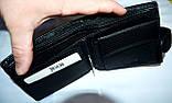 Мужской черный кошелек Balisa из искусственной кожи 12*10 см, фото 3