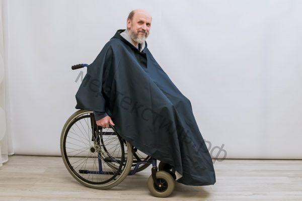 Дождевик для инвалидной коляски от дождя