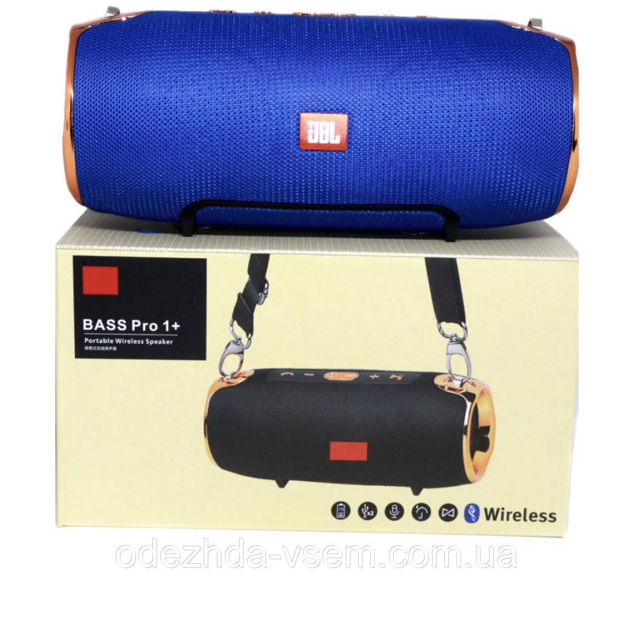 Портативная Bluetooth колонка JBL Bass Pro 1+ ХАКИ