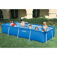 Каркасный бассейн Intex для всей семьи 220-150-60 см