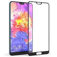 Защитное стекло для Huawei P20 Pro Full Glue черное