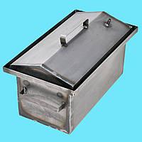 Коптильня горячего копчения 1мм 450х260х210мм Гидрозатвор