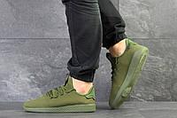 Кроссовки мужские Adidas Pharrell Williams (реплика), артикул 7957 темно зеленые