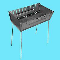 Мангал - чемодан 2 мм на 10 шампуров