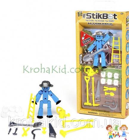 Фигурка для анимационного творчества Stikbot ферма для съёмки видео (фигурка с аксессуарами), фото 2