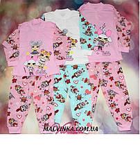 Пижама для девочки Лола (кулир) 32, 34 р  арт 1440