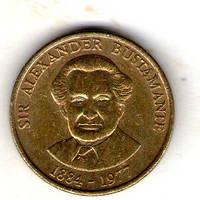 Ямайка 1 доллар 1993 №21