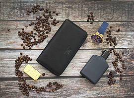 Кожаный клатч Giorgio Armani / Мужской клатч из натуральной кожи