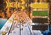 Велюр цветной желтые тона Италия