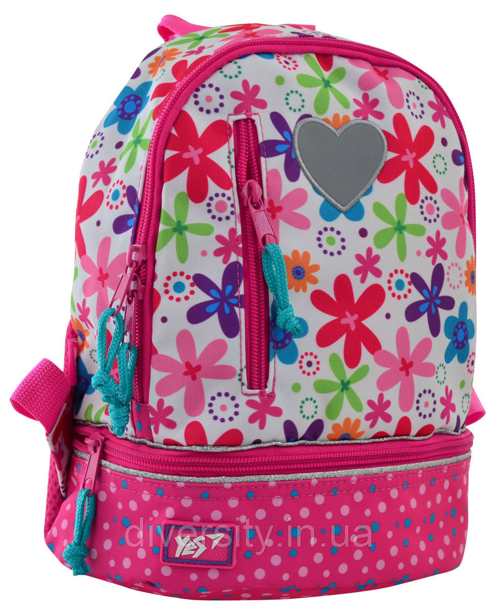 "Детский рюкзак K-21 ""Flowers"" 556443"