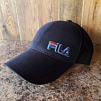 Бейсболка, кепка Fila цвет синий реплика, фото 1