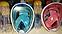 Подводная маска EasyBreath, закрывающая все лицо (2 размера), фото 8